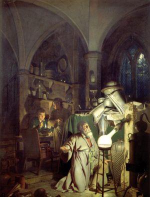 Der Alchemist in seiner Küche