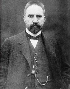 Foto von Hugo Stinnes um 1900