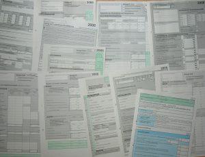 Steuern - Steuerformulare