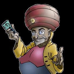 Geldgespräch - Logo des Finanzwesirs