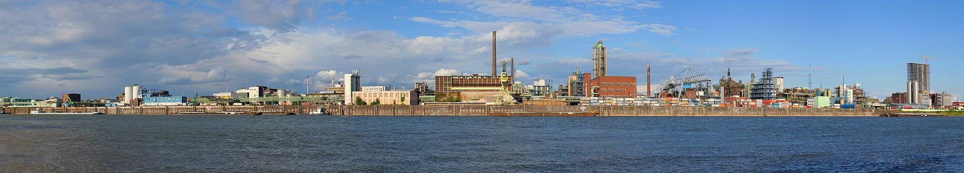 Kennzahlen - Werk der Bayer AG am Rhein