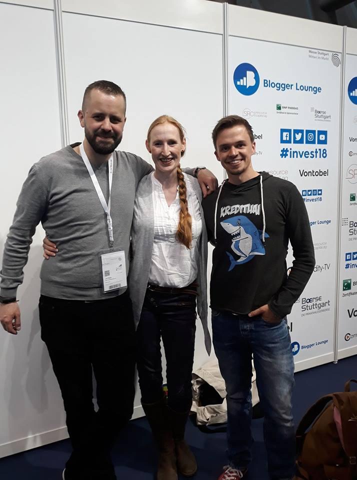 Bloggerlounge auf der Invest 2018 in Stuttgart