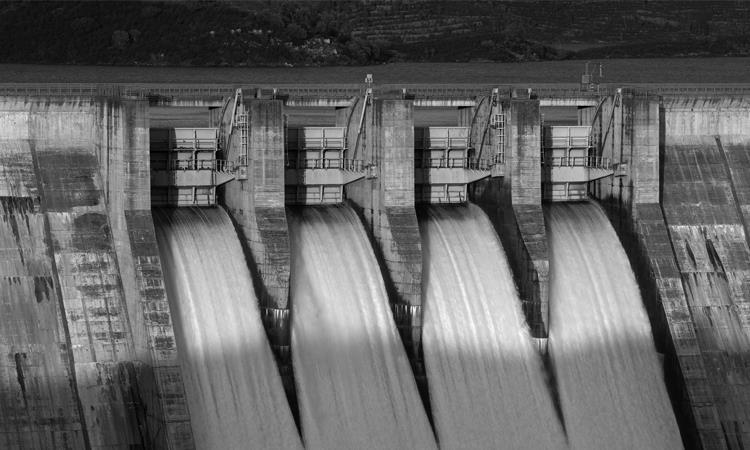 Wasserkraftwerk von BEP