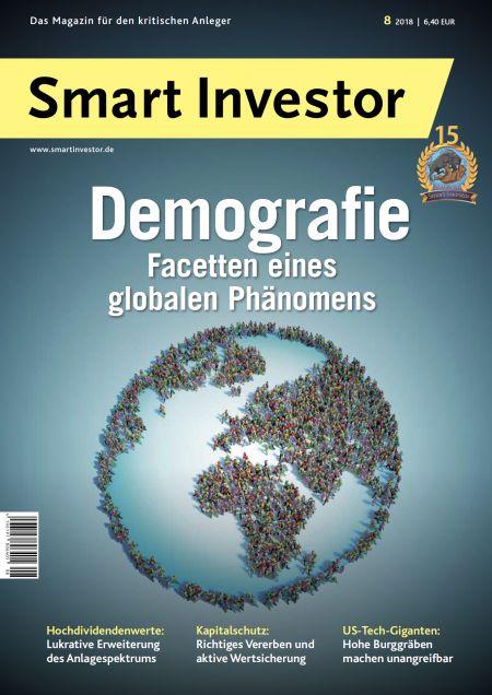 Smart Investor - Titelbild der Ausgabe 08/2018