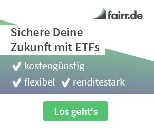 Banner von fairr.de