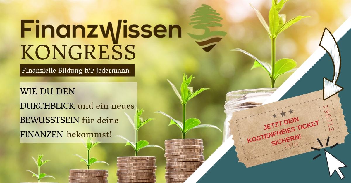 Veranstaltungshinweis - Banner vom Finanzwissen-Kongress