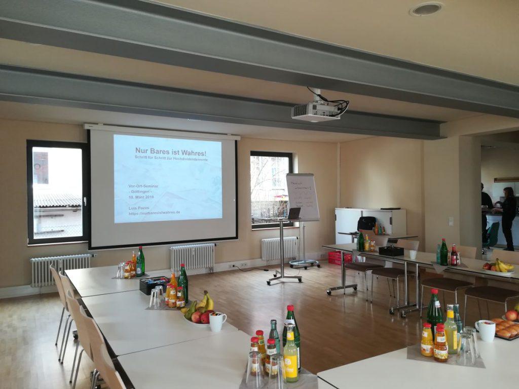 Seminarraum im Leinehof (Göttingen)