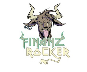 Logo des Finanzrocker-Podcasts
