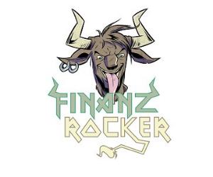 Logo des Finanzrocker-Podcasts