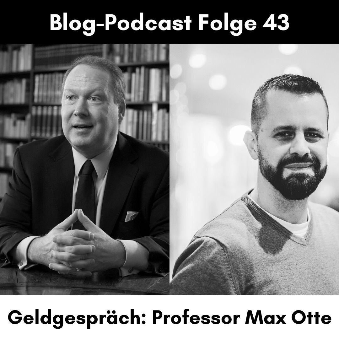 Max Otte (Bestsellerautor und Fondsmanager)