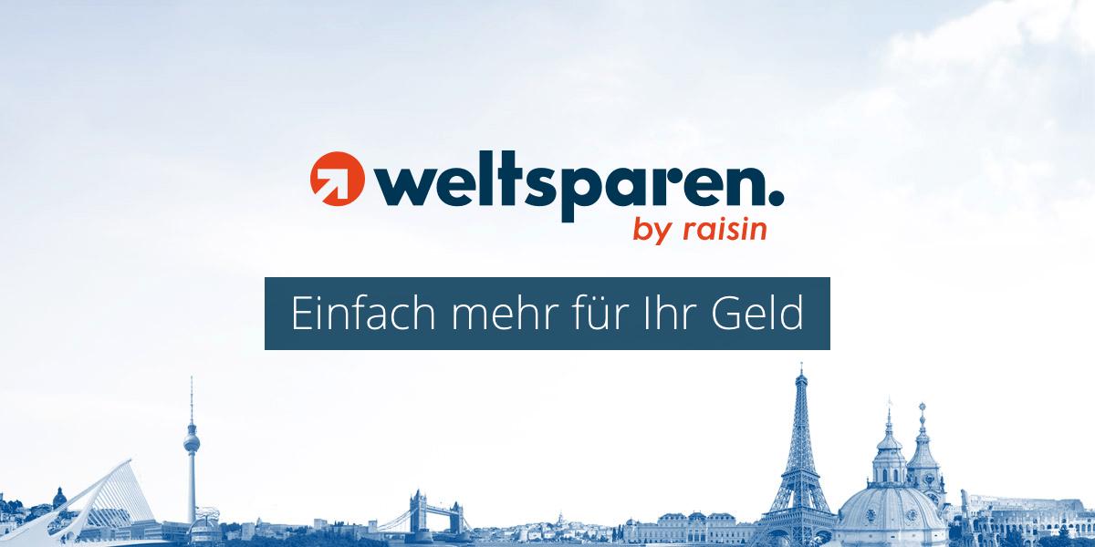 Banner von WeltSparen