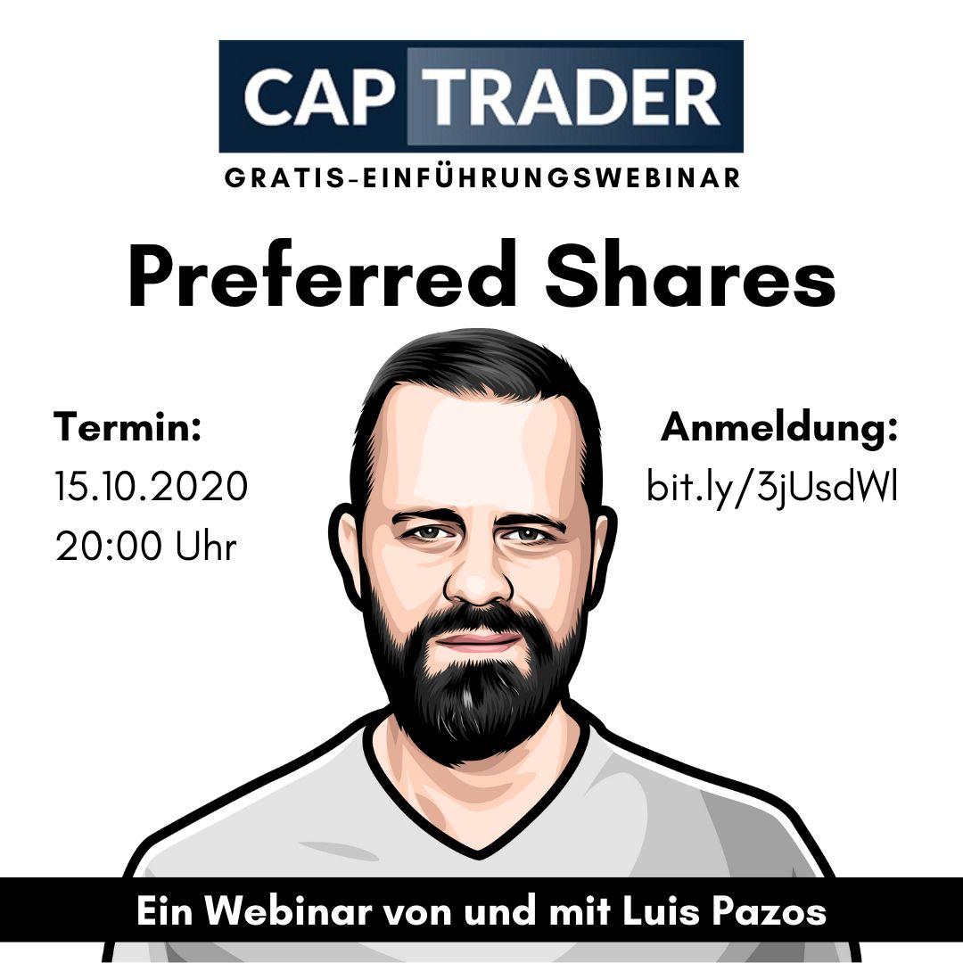 CapTrader-Banner zum Preferred-Shares-Webinar