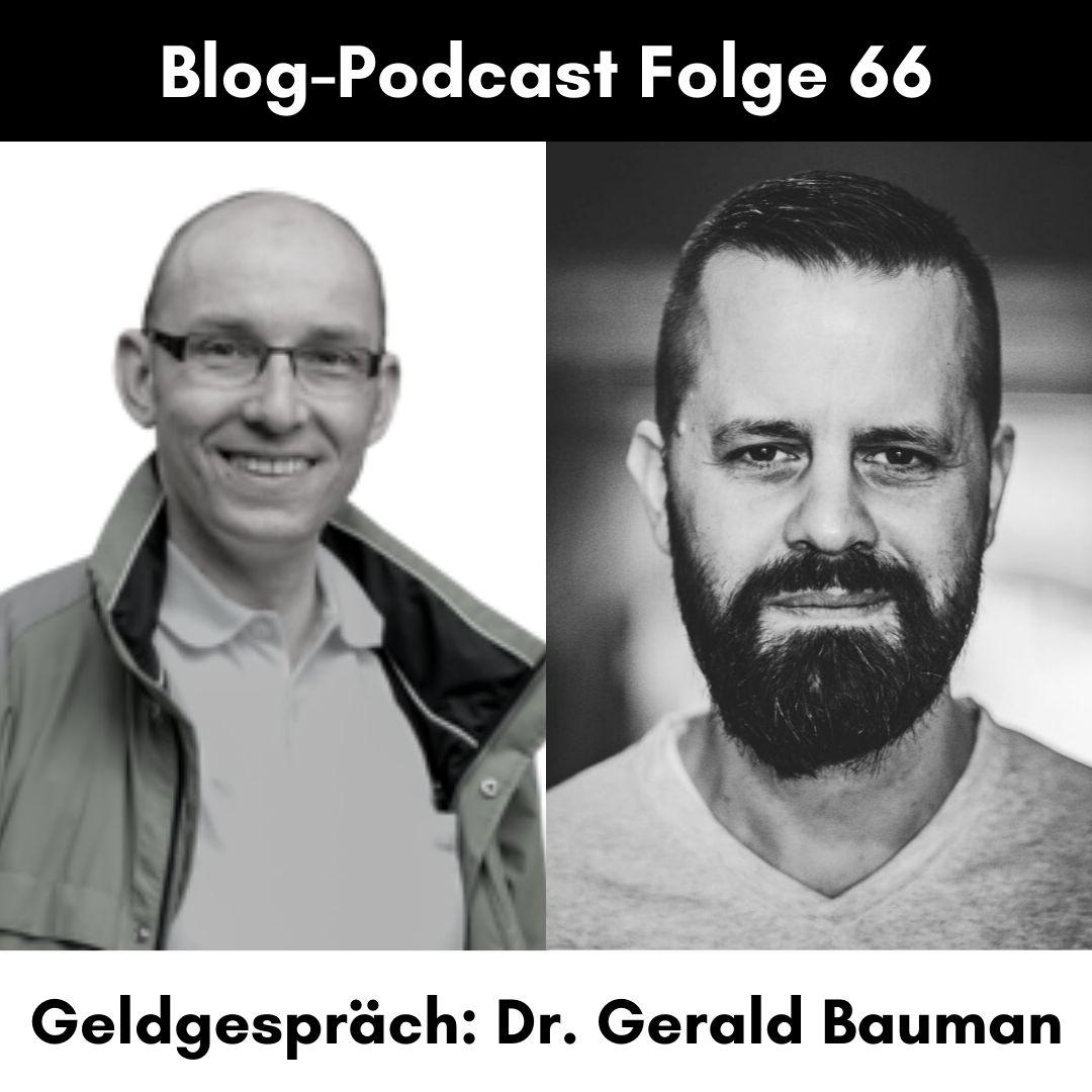 Dr. Gerald Baumann (Aktienaktivist und Petitent)