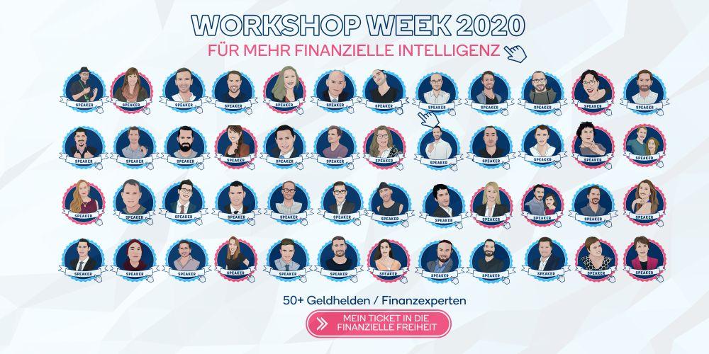 Banner der Work Shop Week 2020