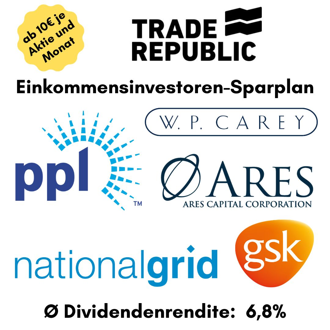 Aktiensparplan bei Trade Republic