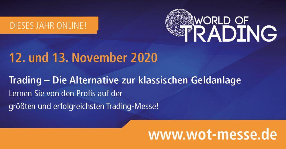 Banner der World of Trading 2020