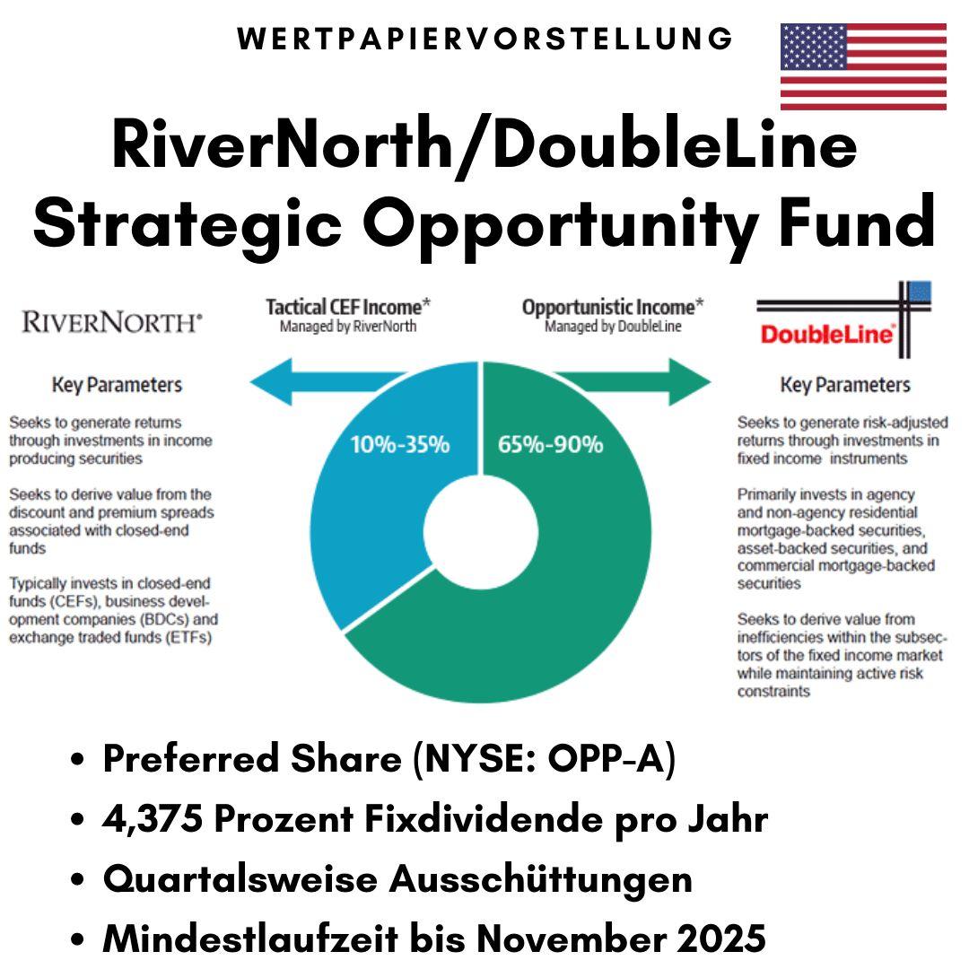 Eckdaten des RiverNorth/DoubleLine Strategic Opportunity Fund