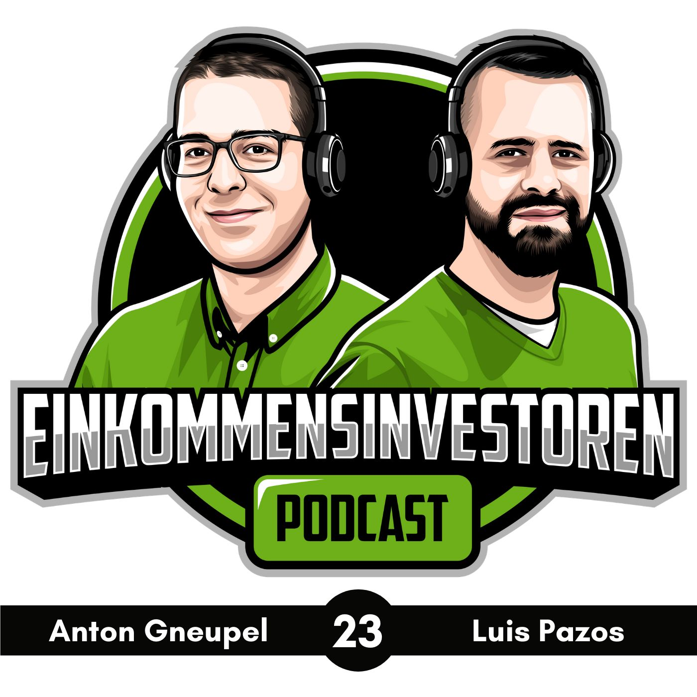 Logo vom Einkommensinvestoren-Podcast