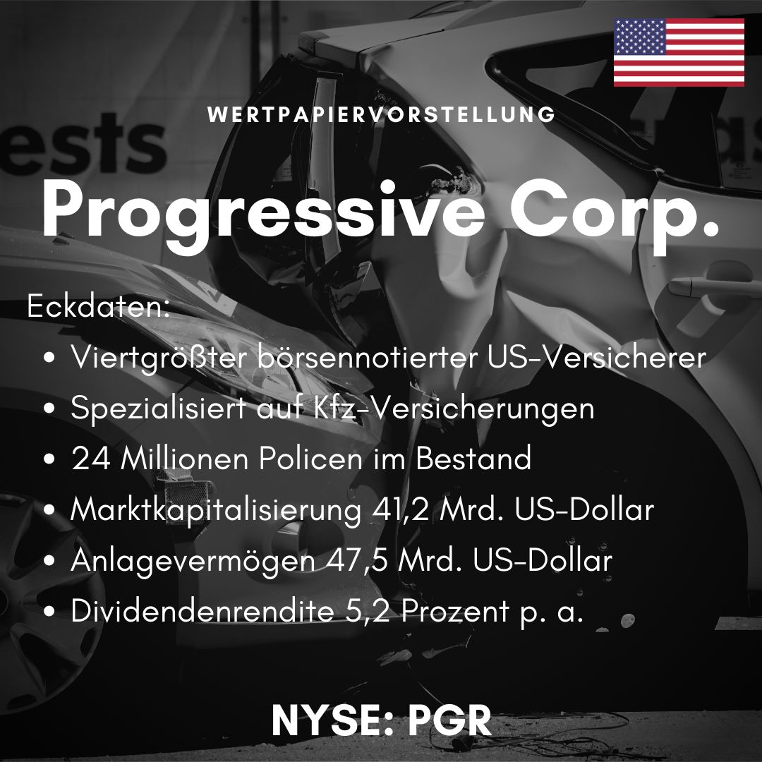 Eckdaten der Progressive Corporation