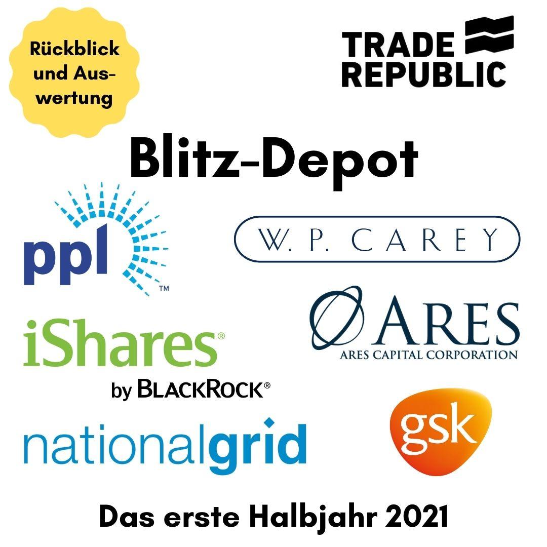 Blitz-Depot erstes Halbjahr 2021